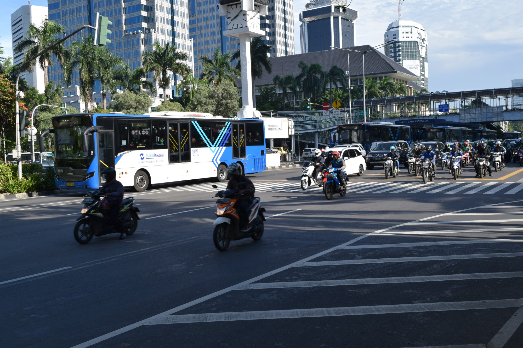 Buses in Indonesia