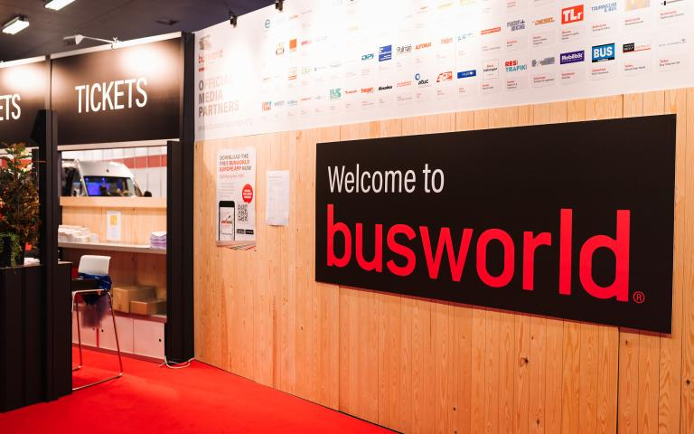 Busworld Europe Entrance